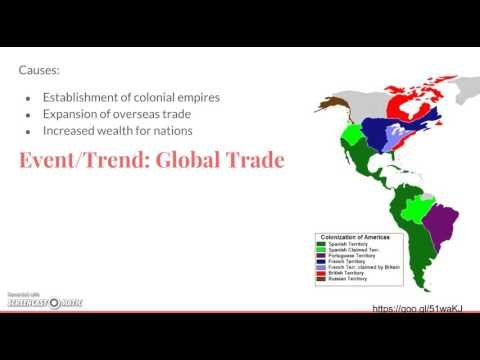 4.4 The Columbian Exchange and Global Trade GR