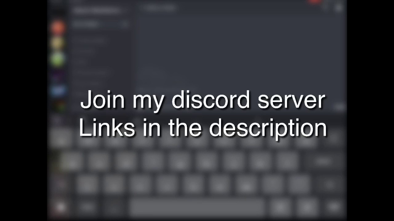 Join my discord server (Links in description)