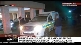 Chaos erupts following announcement of preferred AmaZulu King