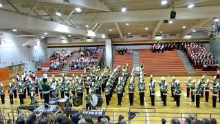 Montgomery High School Marching Band NJ 11/1/14 Pennsbury Festival