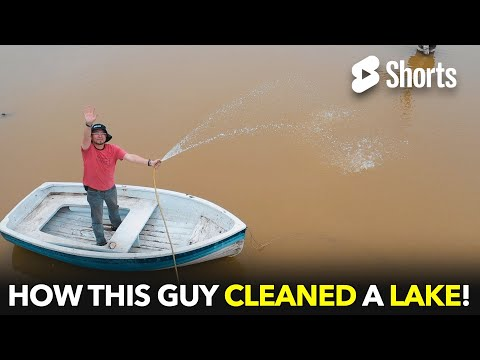 How This Guy Cleaned A Lake!