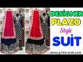Buy Single piece Also ll Designer Plazo Style Suit ll Online Shop ll www.prititrendz.com