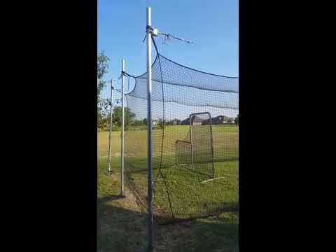 DIY Batting Cage Cheap 40 X 12