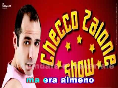 Checco Zalone La polizia Karaoke