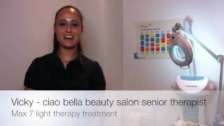 MAX7 LIGHT THERAPY TREATMENT PART 1 - CIAO BELLA BEAUTY SALON SYDNEY Thumbnail