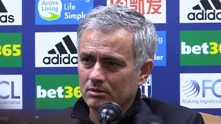 west brom 0 2 manchester united jose mourinho full post match press conference