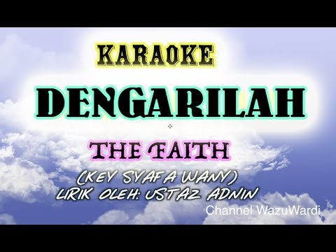 Karaoke - Dengarilah (Despacito Malay) - The Faith (key Syafa Wany)