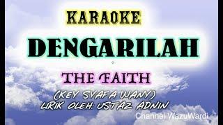 Karaoke - Dengarilah Despacito Malay - The Faith key Syafa Wany
