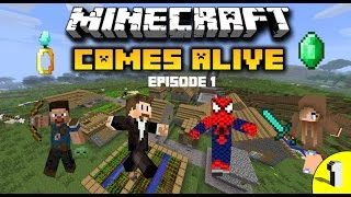 Lets Play Minecraft Comes Alive Ep.1