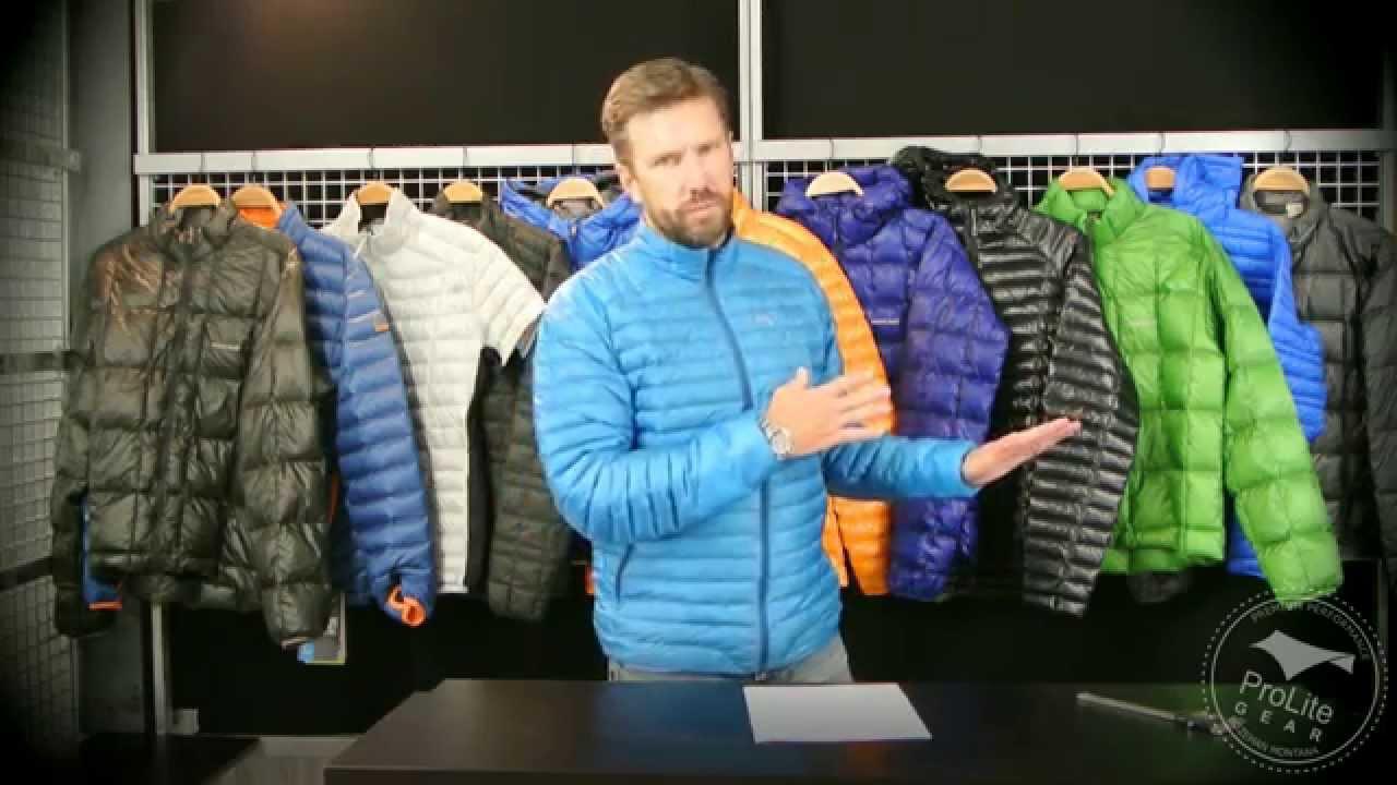 arc'teryx down jacket review