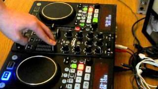Citronic MPX10 midi controller and usb player, VDJ, Traktor - video 1