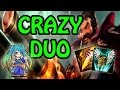 CRAZY DUO!? UNREAL DAMAGE GRAVES JUNGLE FULL AD!  - League of Legends S7