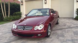 2009 Mercedes Benz CLK350 Convertible Review and Test Drive by Bill - Auto Europa Naples
