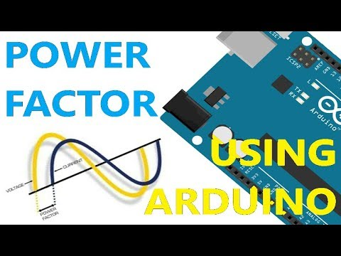 How to measure Power Factor using ARDUINO