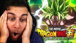 WE DON'T DESERVE THIS MOVIE!! | DRAGON BALL SUPER BROLY FINAL TRAILER REACTION + BREAKDOWN