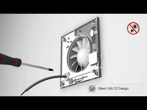 extracteur d 39 air silent cz design unelvent youtube