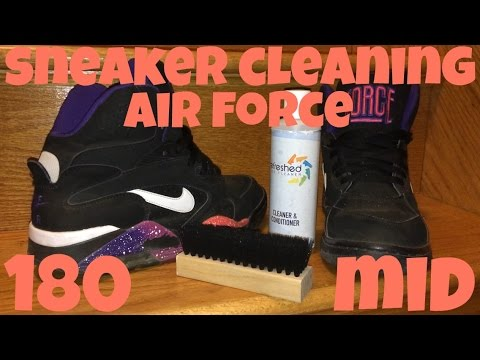 Sneaker Cleaning for Nike Air Force 180 Mid