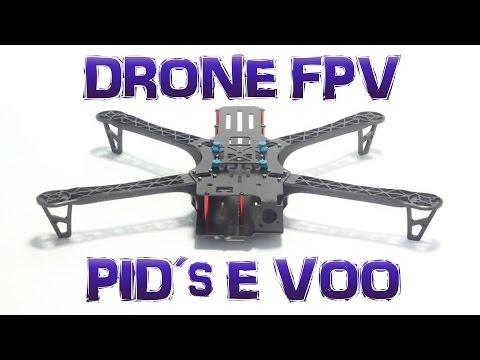 MONTANDO um DRONE FPV BOM e BARATO (TBS DisCOVER) - Vídeo 12 - PID´s e VOO!