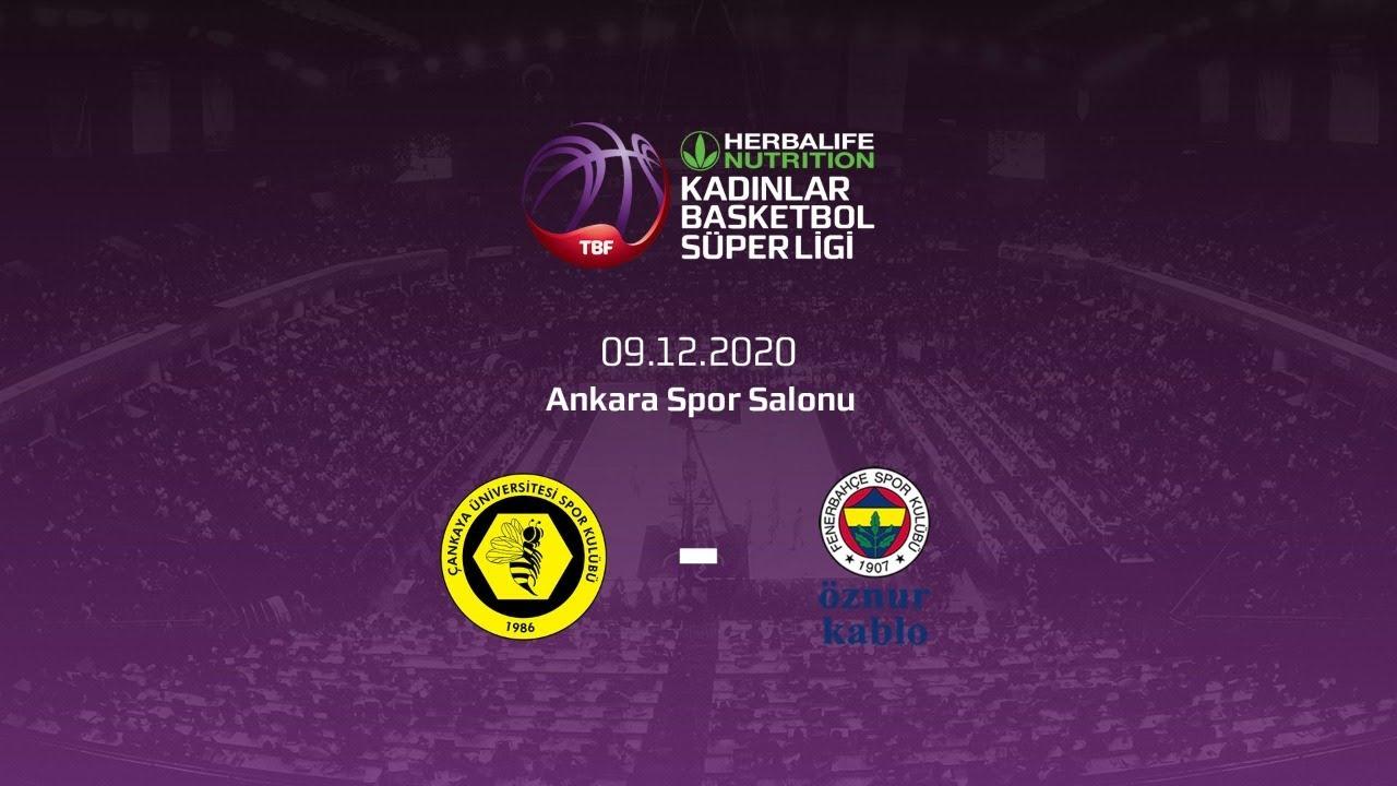 Çankaya Üniversitesi – Fenerbahçe Öznur Kablo Herbalife Nutrition KBSL 11.Hafta