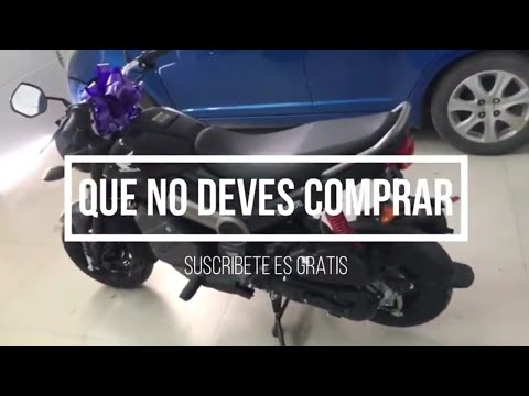 5 motos que no debes comprar en Honduras 👍