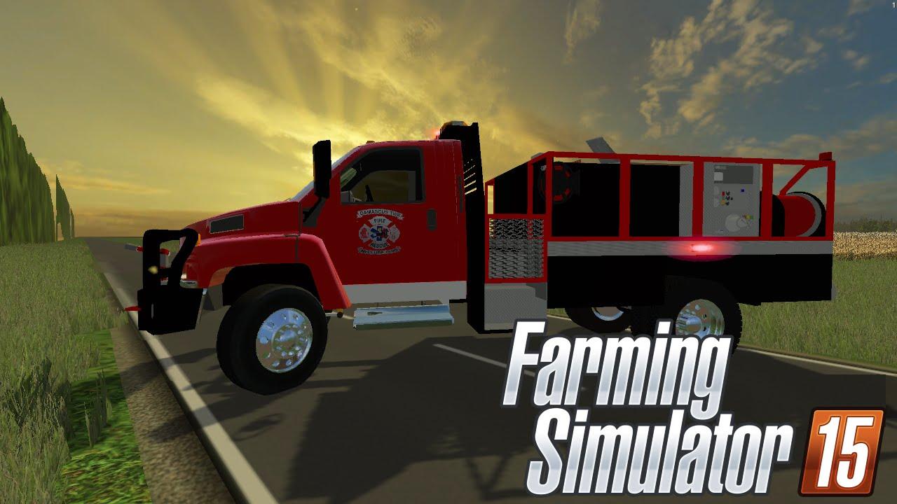FS15: Mod Release! (GMC Brush Truck)
