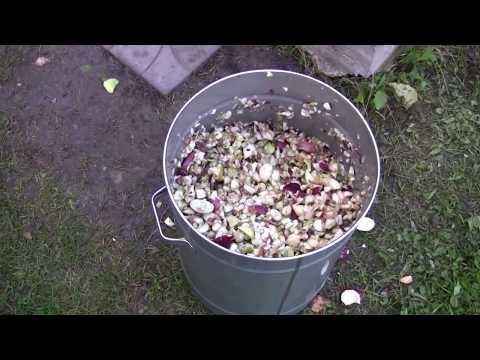 Как сделать соковыжималку для яблок своими руками видео