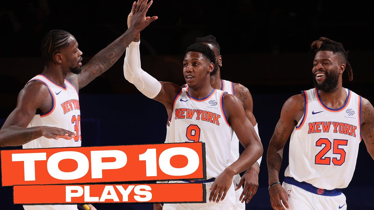 Download Top 10 New York Knicks Plays of The Year! 🔥