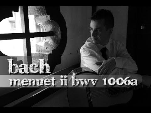 Menuet II (BWV 1006a) by J.S. Bach