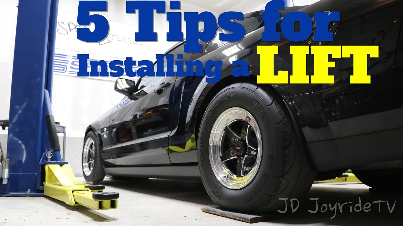 Working Auto Lift : Tips before installing a car lift in your garage youtube