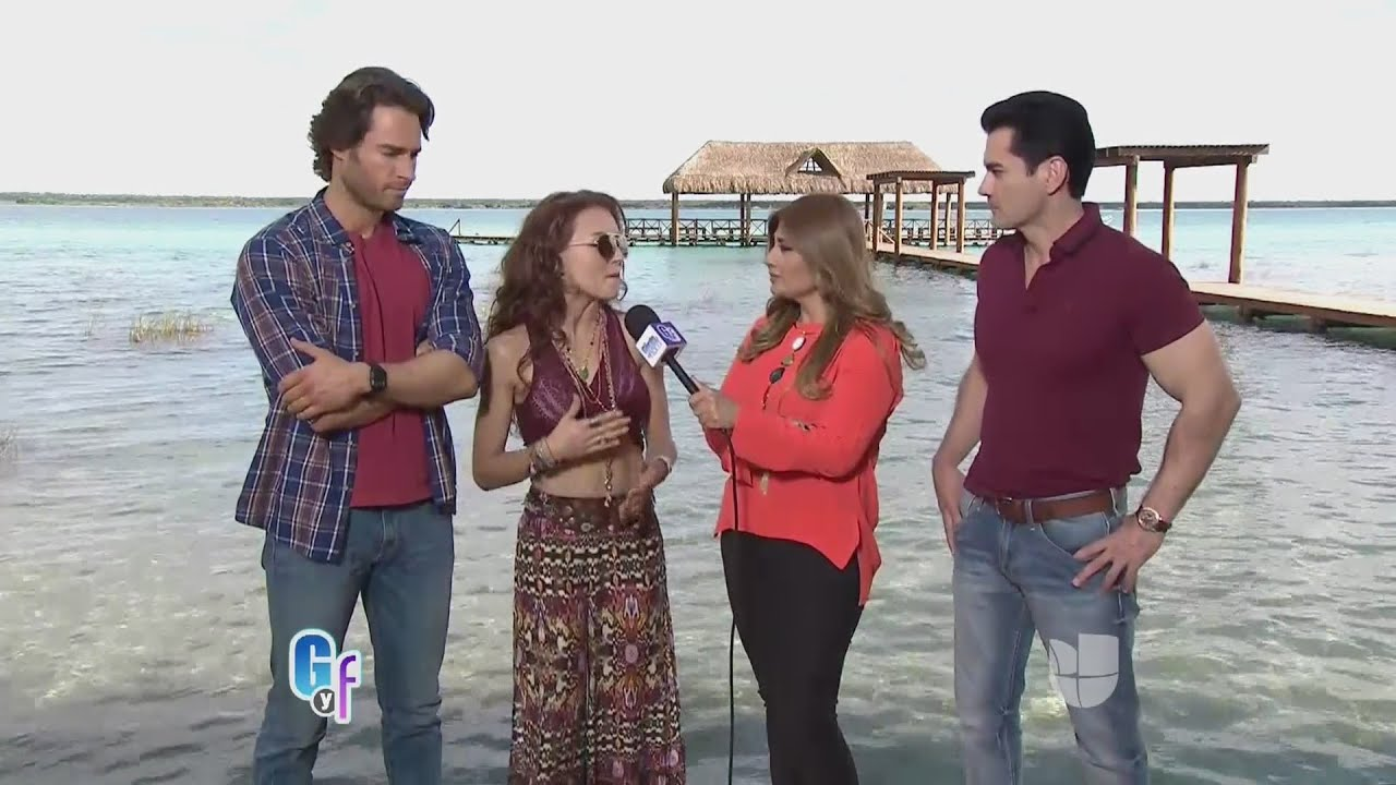 Angelique Boyer, Sebastián Rulli y David Zepeda hablaron de su nuevo ...