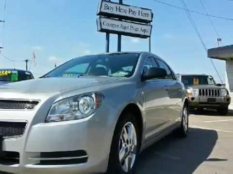 2008 Chevrolet Malibu For Sales. Dallas, Texas. BAD CREDIT FINANCING
