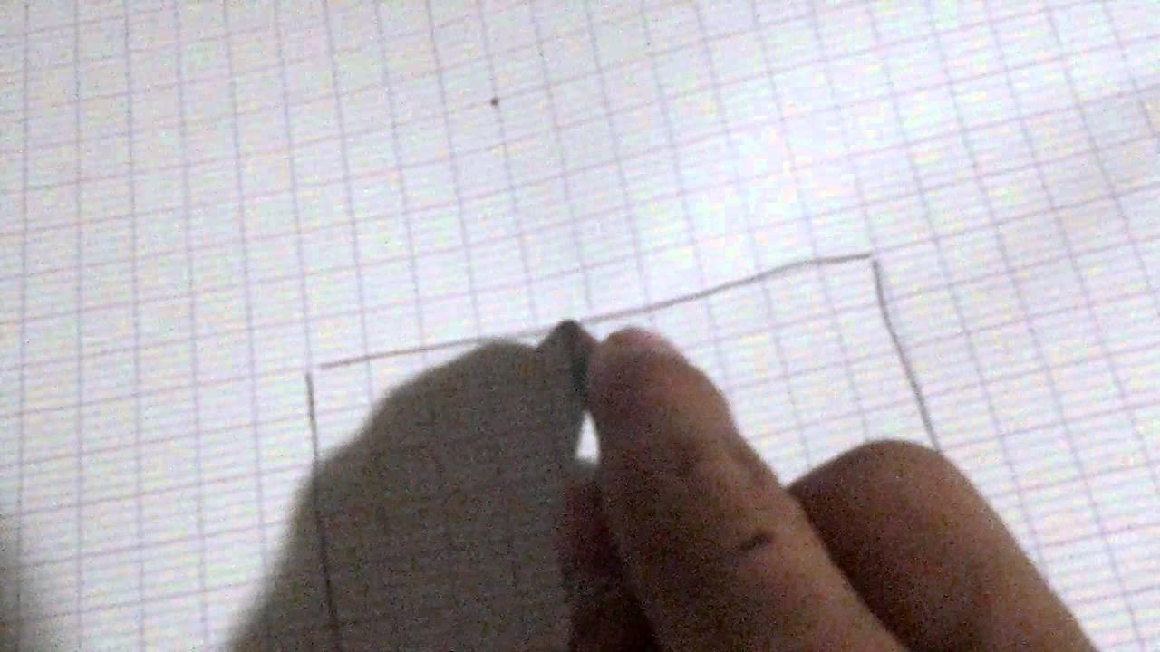 Cr e une maison 3d sur papier youtube for Apprendre a dessiner une maison en 3d