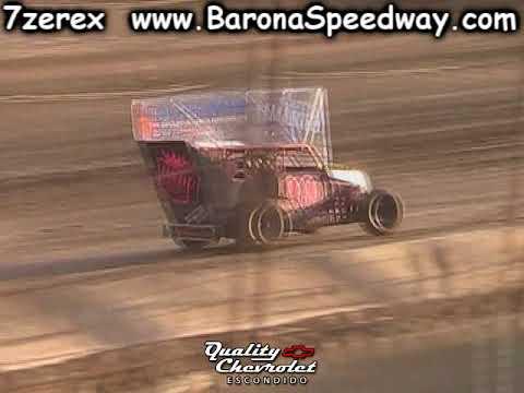 Dwarf Car Heat 1 Barona Speedway 10-21-2017