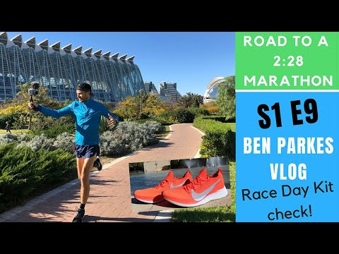 Marathon Racing Kit - Valencia Expo & Weekly Wrap Up - Training For A 2:28 Marathon S1E9