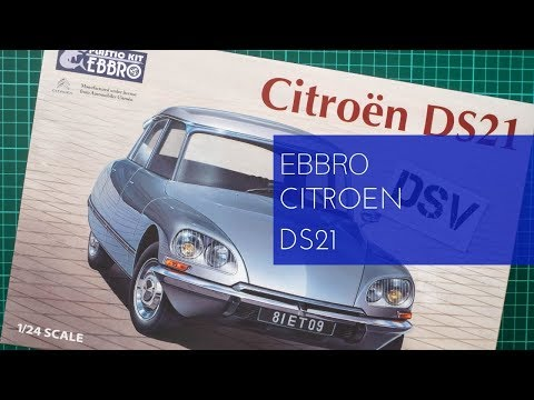 Ebbro 1/24 Citroen DS21 (25009) Review