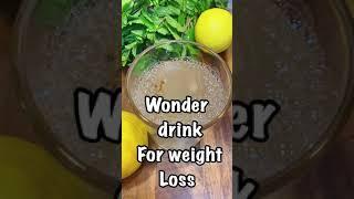 STRONGEST BELLY FAT BURNER DRINK|FULL BODY WEIGHTLOSS TEA| NO strict Diet.3 Ingredients #shorts