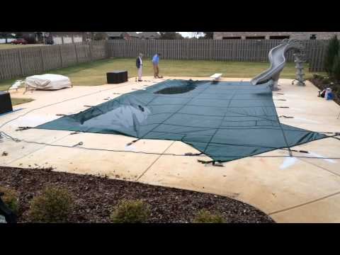 Tara Liner: Safety Cover Installation Time Lapse