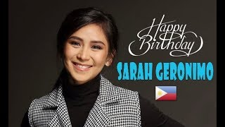 HAPPY 30TH BIRTHDAY, SARAH GERONIMO!