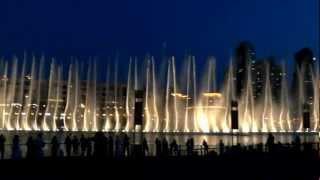 The Dubai Fountain: All Night Long... 9 April, 2012