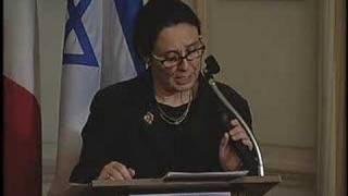 Israel at 60. Centro Primo Levi  & Italian Cons. G.  NY