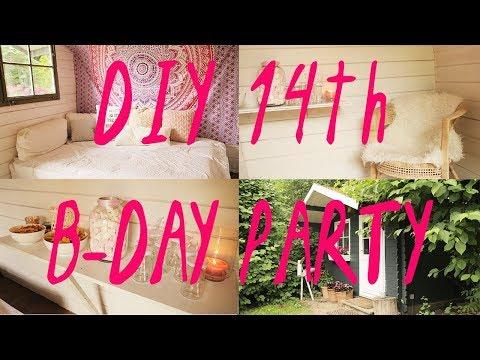 Mein 14th B-DAY  I  Süße PARTYLOCATION  I  DIY  I  CharlieXD