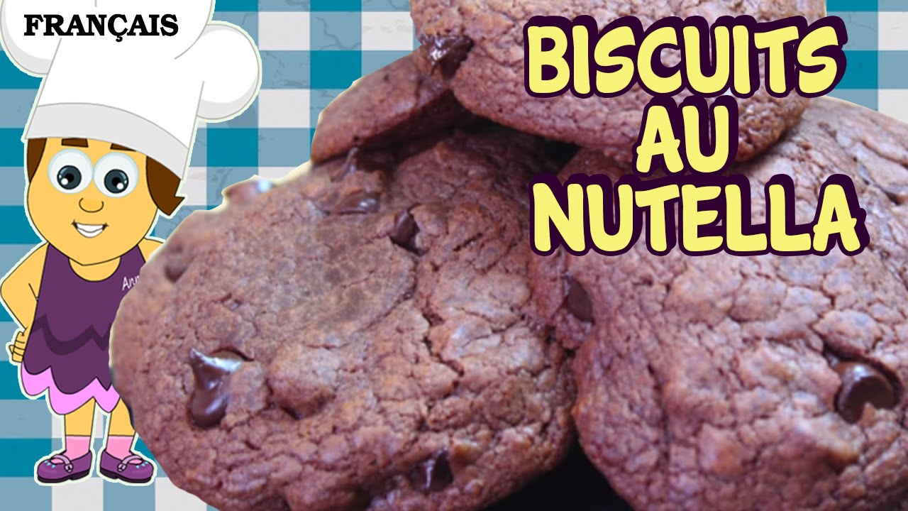 recette facile nutella cookies recipe in french comment. Black Bedroom Furniture Sets. Home Design Ideas