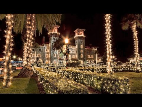 St Augustine Christmas Lights Tour 2021 Fall In Love With St Augustine S Nights Of Lights Youtube