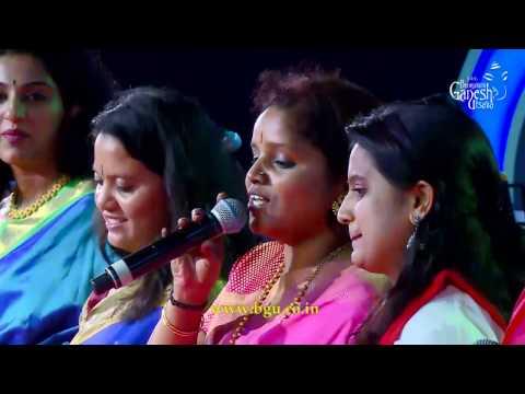 All Women's Band of BGU performing Medley of S.Janaki's film songs @ 54th Bengaluru Ganesh Utsava