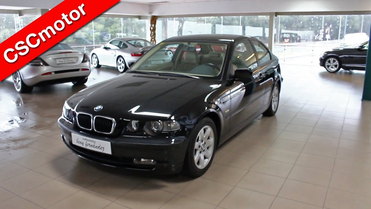 bmw 320 td compact 2002 revisi n en profundidad y encendido youtube. Black Bedroom Furniture Sets. Home Design Ideas