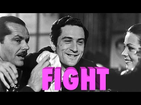 De Niro vs Nicholson in The Last Tycoon