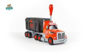 Kamion szerszámos bőrönddel Black&Decker Truck Smo