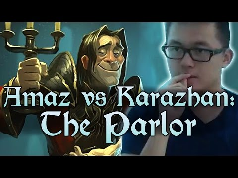[Hearthstone] AMAZ VS KARAZHAN: The Parlor (Wing 1, Normal) and Class Challenges