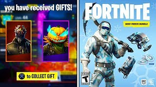 GIFTING the *NEW* DEEP FREEZE BUNDLE on Fortnite - (Fortnite Battle Royale - Gifting Release Date!)