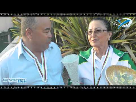Interview Vilma - Jose Afonso in World Championship Surfcasting 2014 - France